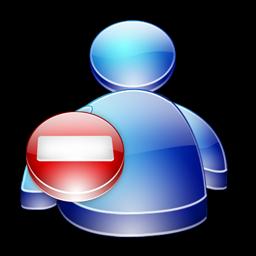 Msn Buddy Busy icon