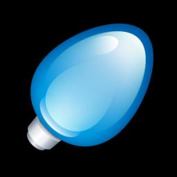 Christmas Light Blue icon