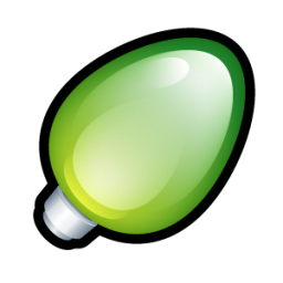 Christmas Light Green icon