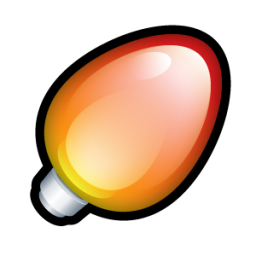 Christmas Light Red icon