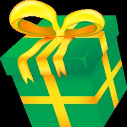 Christmas present icon