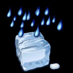 Status weather freezing rain icon