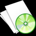 documents white music icon