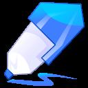 pen blue icon