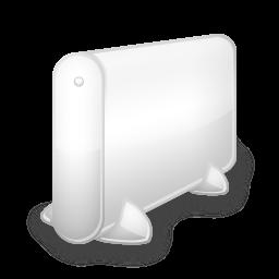 hdd blanc icon
