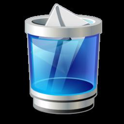 trash mail icon